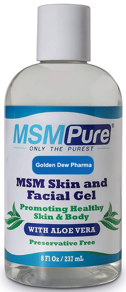 MSM-Gel with Aloe Vera